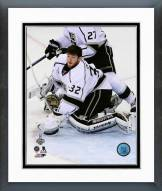 Los Angeles Kings Jonathan Quick Game 3 of the 2014 Stanley Cup Finals Framed Photo