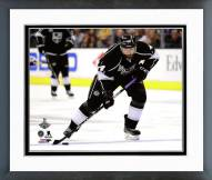 Los Angeles Kings Justin Williams Game 5 of the Stanley Cup Finals Framed Photo
