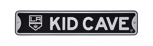 Los Angeles Kings Kid Cave Street Sign