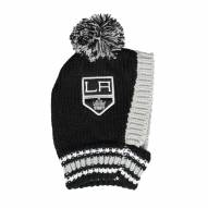 Los Angeles Kings Knit Dog Hat