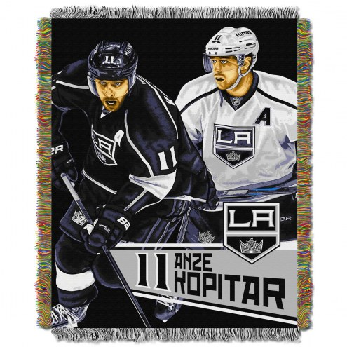 Los Angeles Kings Kopitar Throw Blanket