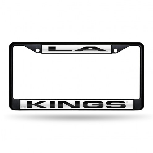 Los Angeles Kings Laser Colored Chrome License Plate Frame