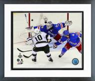 Los Angeles Kings Mike Richards Stanley Cup Finals Framed Photo