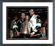 Los Angeles Kings Mike Richards & Jeff Carter Stanley Cup Finals Framed Photo