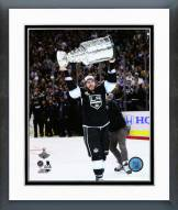 Los Angeles Kings Mike Richards with the Stanley Cup Framed Photo