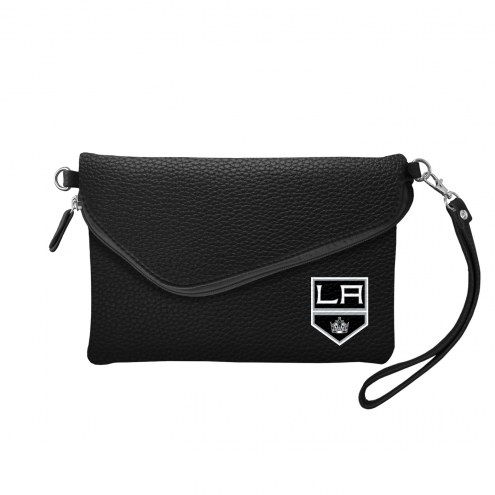 Los Angeles Kings Pebble Fold Over Purse