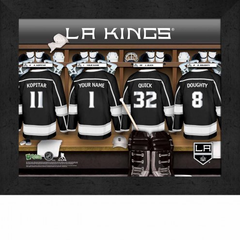 Los Angeles Kings Personalized 11 x 14 Framed Photograph