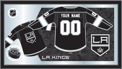 Los Angeles Kings Personalized Jersey Mirror
