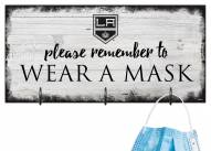 Los Angeles Kings Please Wear Your Mask Sign