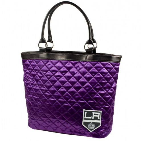 Los Angeles Kings Quilted Tote Bag