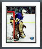 Los Angeles Kings Rogatien Vachon Action Framed Photo