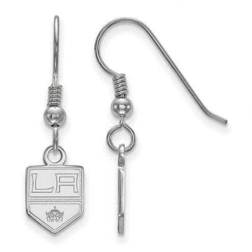 Los Angeles Kings Sterling Silver Extra Small Dangle Earrings