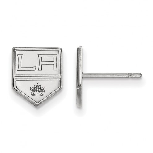 Los Angeles Kings Sterling Silver Extra Small Post Earrings