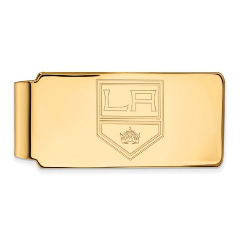 Los Angeles Kings Sterling Silver Gold Plated Money Clip