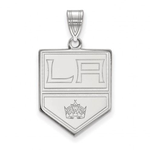 Los Angeles Kings Sterling Silver Large Pendant