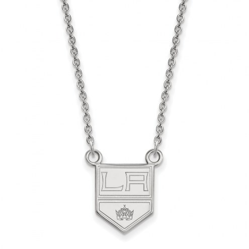Los Angeles Kings Sterling Silver Small Pendant Necklace
