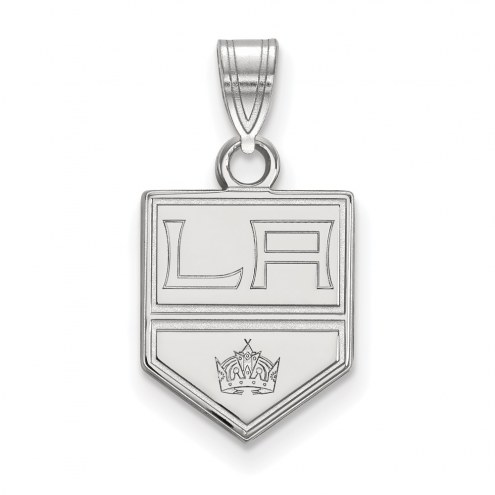Los Angeles Kings Sterling Silver Small Pendant