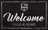 Los Angeles Kings Team Color Welcome Sign