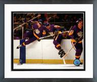 Los Angeles Kings The Triple Crown Line Framed Photo