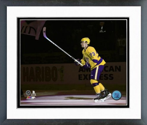 Los Angeles Kings Tyler Toffoli Action Framed Photo