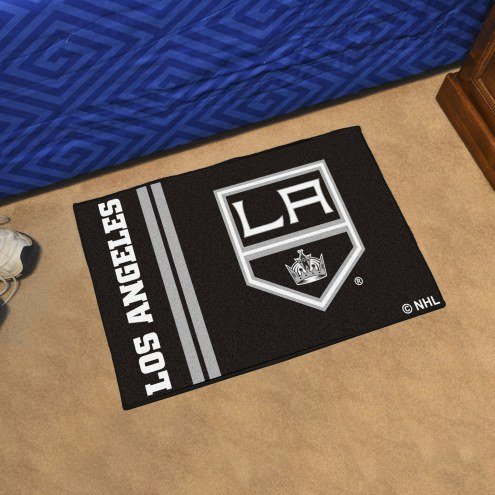 Los Angeles Kings Uniform Inspired Starter Rug