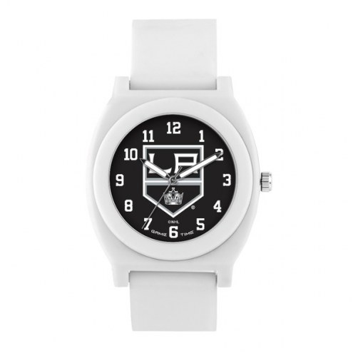 Los Angeles Kings Unisex Fan White Watch