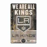 Los Angeles Kings Slogan Wood Sign