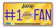 Los Angeles Lakers #1 Fan License Plate
