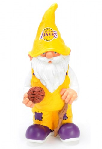 """Los Angeles Lakers 11"""" Garden Gnome"""