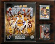 """Los Angeles Lakers 12"""" x 15"""" All-Time Great Photo Plaque"""