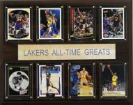 """Los Angeles Lakers 12"""" x 15"""" All-Time Greats Plaque"""
