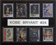 """Los Angeles Lakers 12"""" x 15"""" Kobe Bryant 8 Card Plaque"""