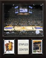 "Los Angeles Lakers 12"" x 15"" Staples Center Arena Plaque"