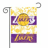 """Los Angeles Lakers 13"""" x 18"""" Garden Flag"""