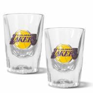 Los Angeles Lakers 2 oz. Prism Shot Glass Set