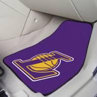 Los Angeles Lakers 2-Piece Carpet Car Mats