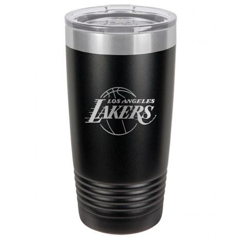Los Angeles Lakers 20 oz. Black Stainless Steel Polar Tumbler
