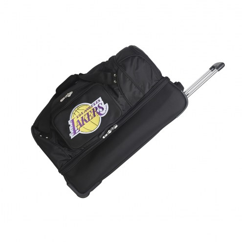 "Los Angeles Lakers 27"" Drop Bottom Wheeled Duffle Bag"