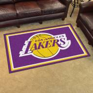 Los Angeles Lakers 4' x 6' Area Rug