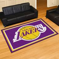 Los Angeles Lakers 5' x 8' Area Rug