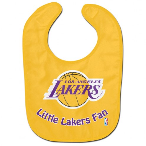 Los Angeles Lakers All Pro Little Fan Baby Bib