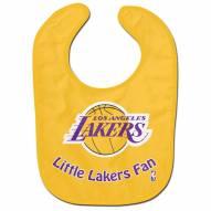 Los Angeles Lakers All Pro Little Fan Baby Bib