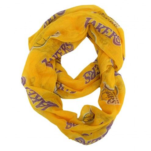 Los Angeles Lakers Alternate Sheer Infinity Scarf