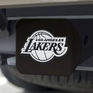 Los Angeles Lakers Black Matte Hitch Cover