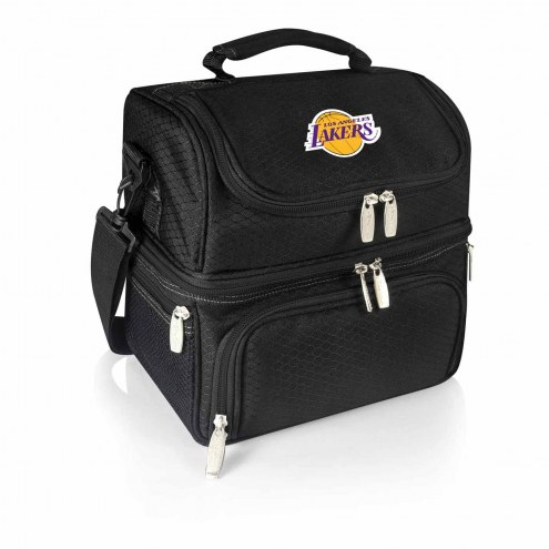 Los Angeles Lakers Black Pranzo Insulated Lunch Box