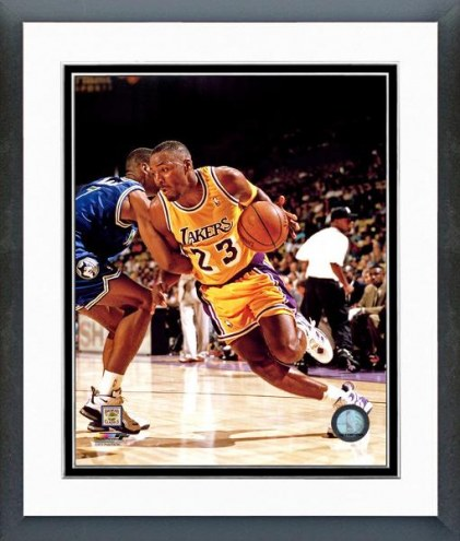 Los Angeles Lakers Cedric Ceballos Framed Photo