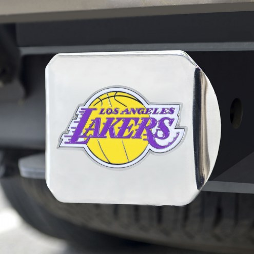 Los Angeles Lakers Chrome Color Hitch Cover