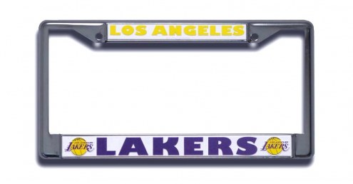 Los Angeles Lakers Chrome License Plate Frame