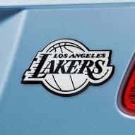 Los Angeles Lakers Chrome Metal Car Emblem