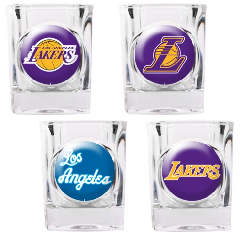 Los Angeles Lakers Collector's Shot Glass Set